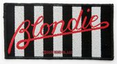 Blondie - 'Parallel Lines' Woven Patch